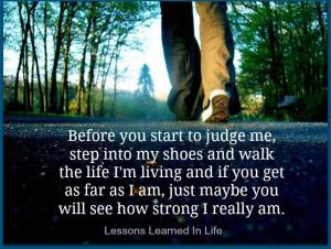 walk under shoes